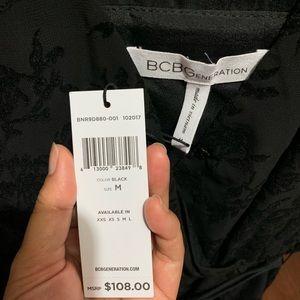 BCBGeneration Dresses - BCBG Flocked Chiffon Romper